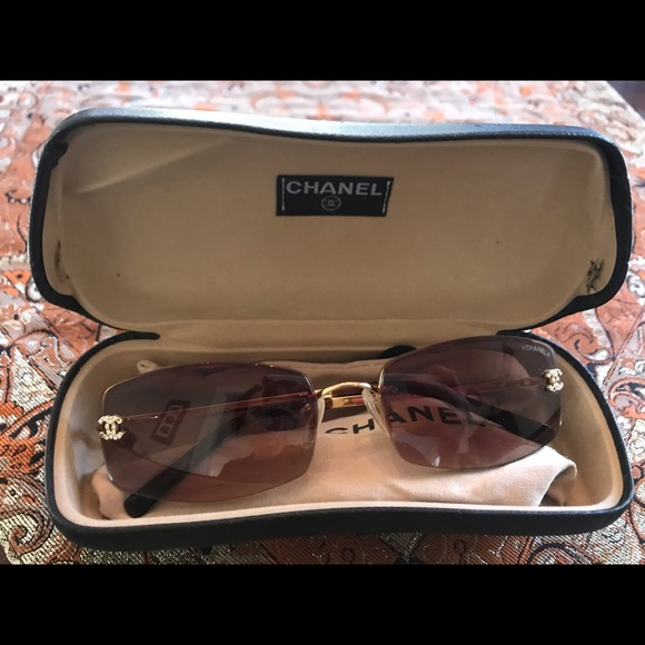 60ad1b8accb8 CHANEL Accessories | Sunglasses Gently Used | Poshmark